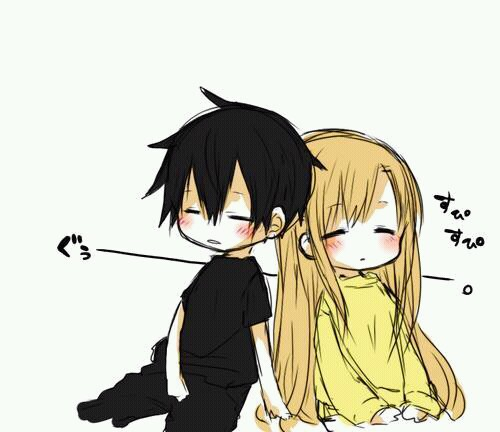 Anime Boy Couple Girl Favim 2024672