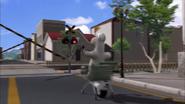 Bernard Railroad Crossing (The Cart) 01
