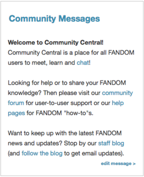 CommunityMessages Fandom