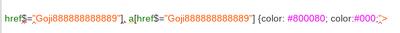 Fix up needs CSS