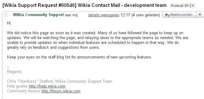 Reaction wikia development team