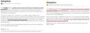 Adoption blog comparison