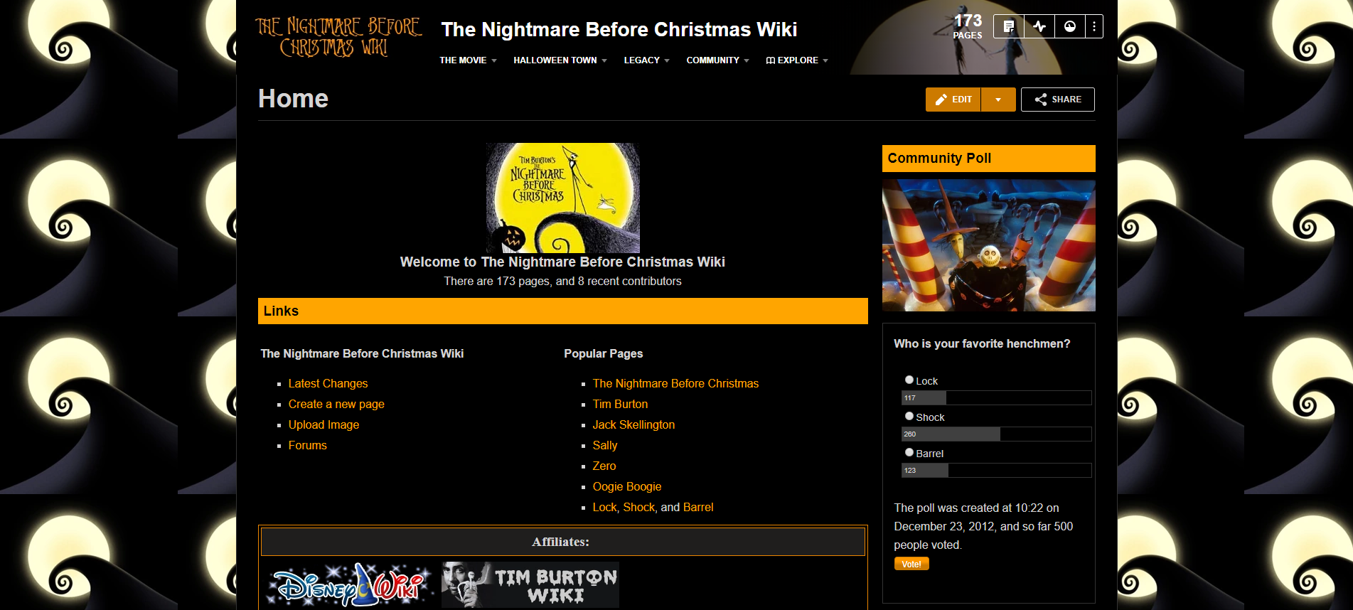 Image - The Nightmare Before Christmas Wiki.png | Community Central ...