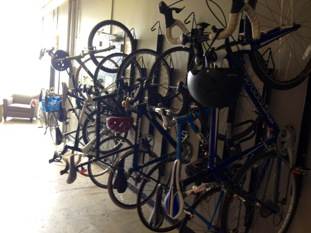 File:Wall of bikes.jpg