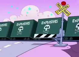 Railroad Crossing Signal from Odd Squad (Fairly Odd Parents)