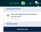 Message wall notifications 1