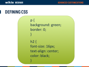 Advanced Customization Webinar Slide24