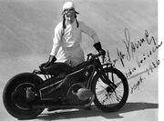 Ernst Henne, Sept 1936, record breaker BMW