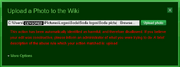 A problem on the Mountain Dew Wikia