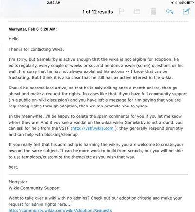 Merrystar original response
