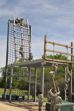 ROTC-Ft Riley Obstacle Cource