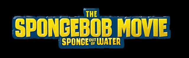File:The SpongeBob Movie - Sponge Out of Water alternate logo.png