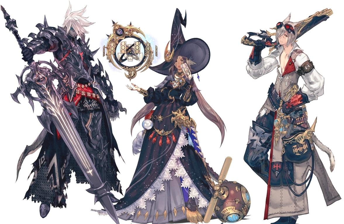 image final fantasy xiv jobs 1 jpg community central fandom