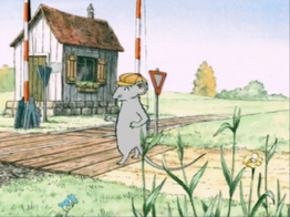 Railroad Crossing on Angelina Ballerina01