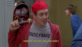 Steve Buscemi 30 Rock Fellow Kids