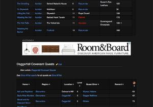 Inline leaderboard