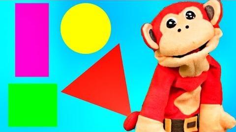 Canciones Infantiles - Las Figuras Geométricas El Mono Sílabo - Videos para niños -