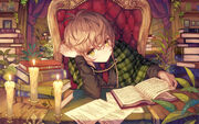 Reading-book-anime-girl-lazy-1-