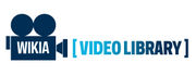 Wikia Video Library wordmark