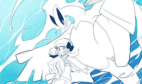 File:Lugia and kotone.png