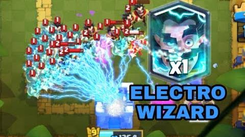 Clash Royale Electro Wizard clone Deck Funny video