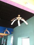 User blogannawantimesabandoned six flags new orleans community ceiling fan in entertainment hall aloadofball Choice Image