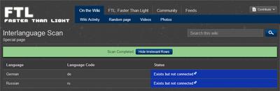 FTL wiki interlang scan