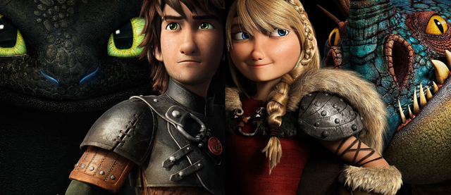 File:Hiccup, Astrid, Toothless and Stormfly.png