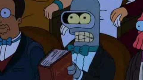 """Bender explains """"Irony""""."""