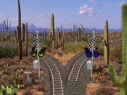 Go West Young Train 001, Railroad Crossing Signals