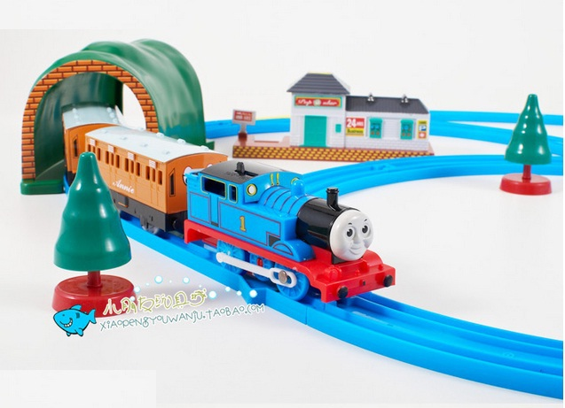 Image Free Shipping Thomas Train Track Electric Motor Train Toy