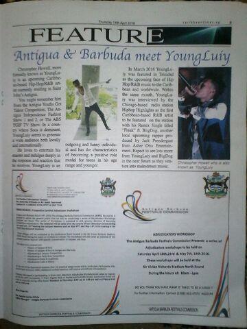File:YoungLuiy Featured In Antigua's -1 Newpaper.jpg
