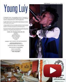 YoungLuiy In The Omg Magazine In Trinidad