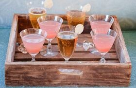 Cocktails-on-a-tray