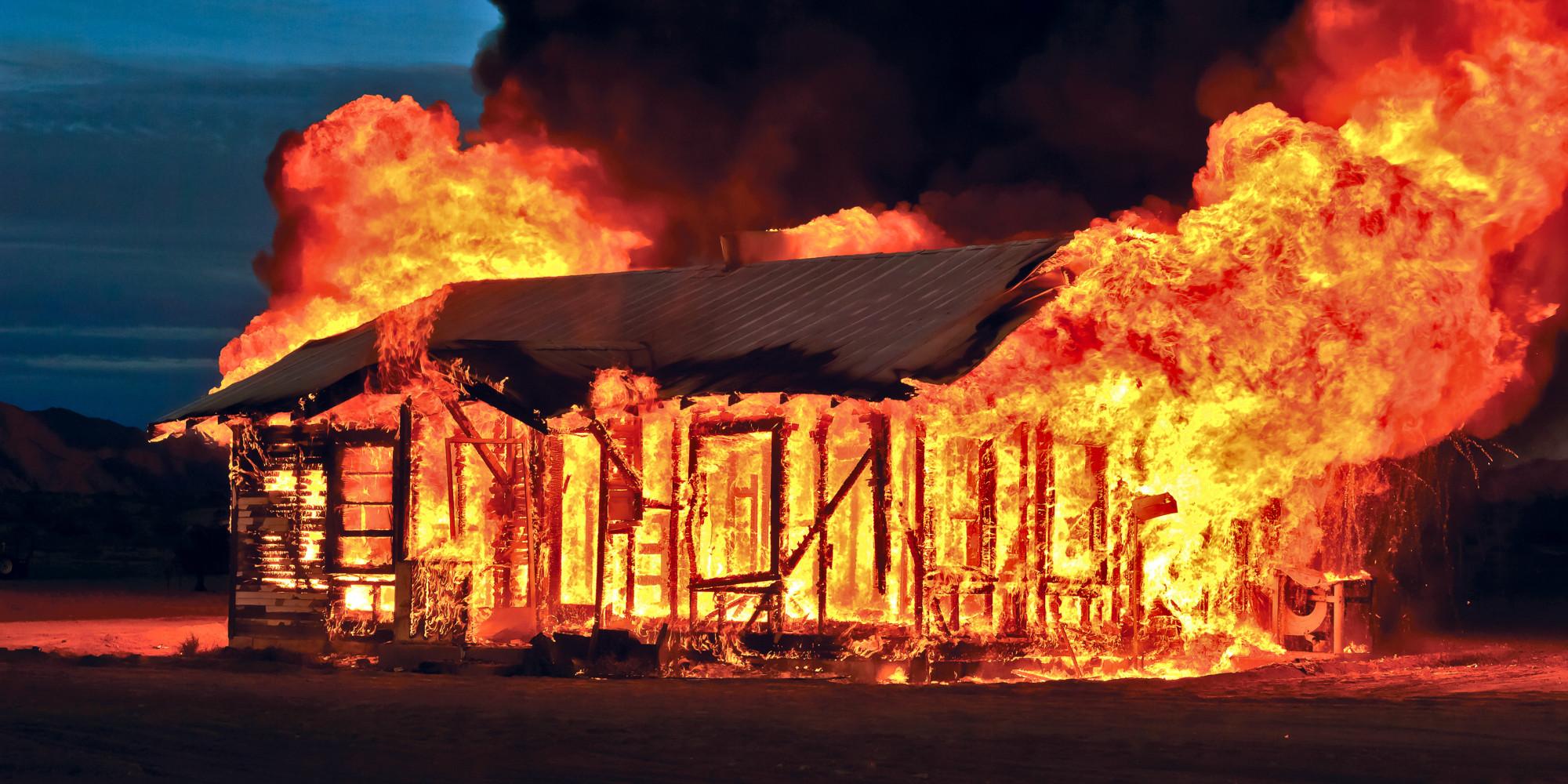 I Love Burning House