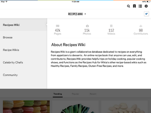 Recipes wikia