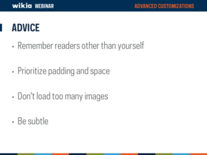 Advanced Customization Webinar Slide37
