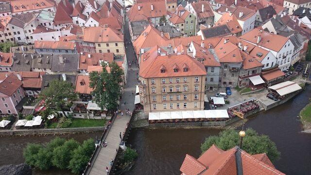 File:Český Krumlov vom Schlossturm aus.jpg