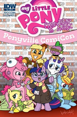 File:MLP IDW Issue 22 Fan Expo Toronto cover.jpg