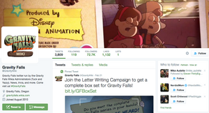 Gravity Falls Wiki Twitter