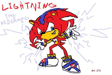 Lightning The Hedgehog 272