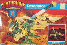 Centurions Detonator packaging