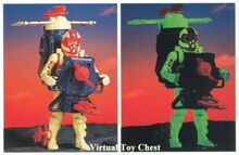 Centurions Mini Gatling Guard prototype