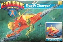 Centurions Depth Charger packaging