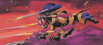 Centurions Cybervore Panther package art
