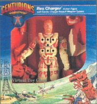 Centurions Rex Charger prototype packaging