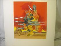 Centurions Land Laser Art