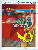 Centurions Power Pack cromalin -1