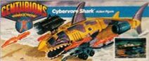 Centurions Cybervore Shark prototype packaging