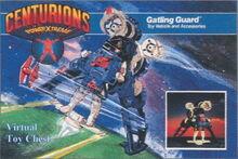 Centurions Gatling Guard packaging